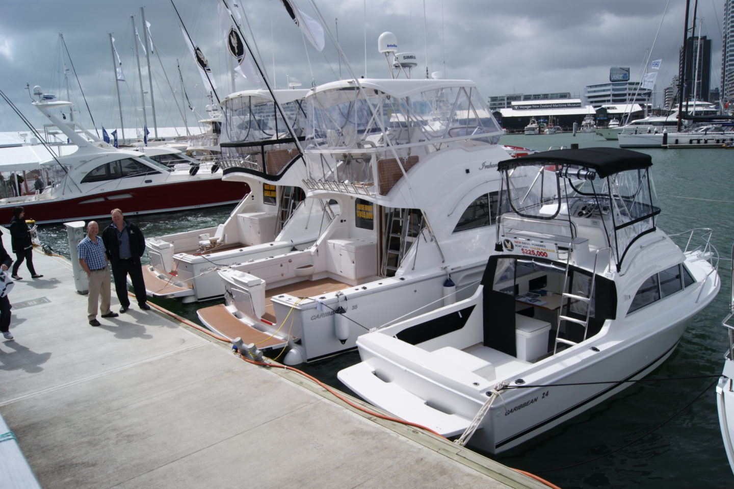 Auckland On Water Boat Show - Caribbean Boats NZ